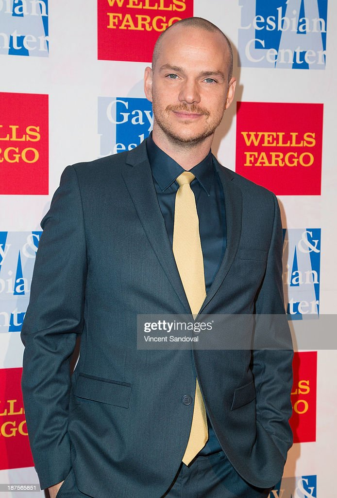 Actor <a gi-track='captionPersonalityLinkClicked' href=/galleries/search?phrase=Peter+Paige&family=editorial&specificpeople=215406 ng-click='$event.stopPropagation()'>Peter Paige</a> attends the L.A. Gay & Lesbian Center's 42nd anniversary Vanguard Awards Gala - Arrivals at Westin Bonaventure Hotel on November 9, 2013 in Los Angeles, California.