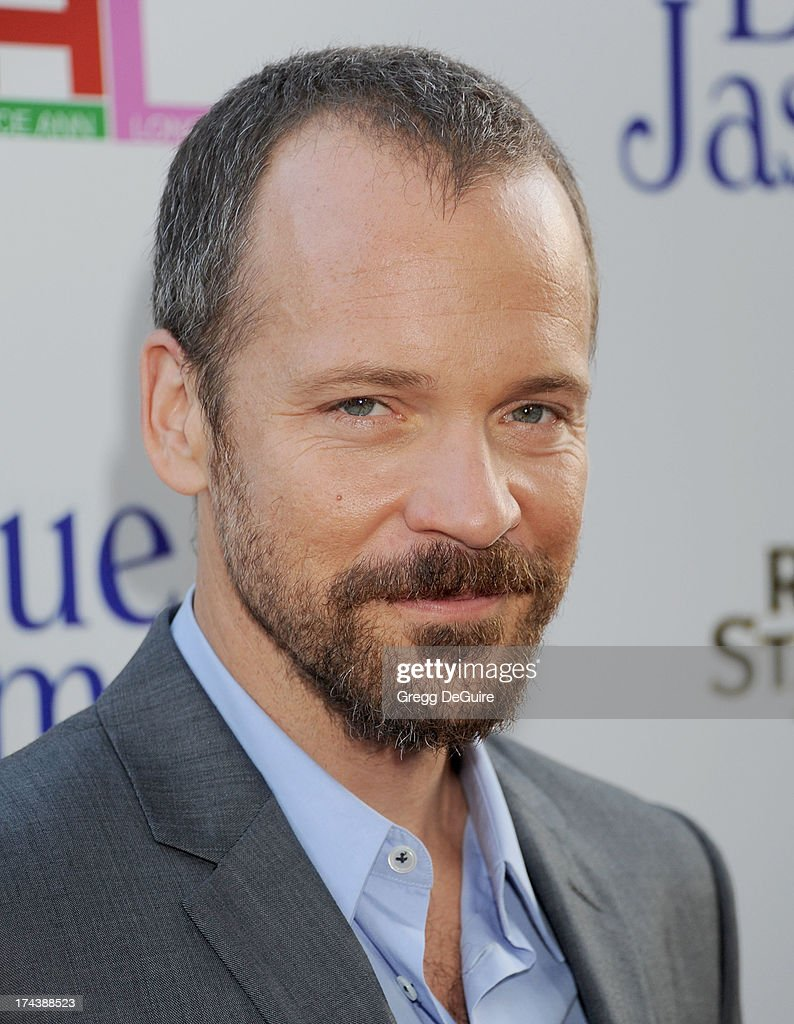 Actor <a gi-track='captionPersonalityLinkClicked' href=/galleries/search?phrase=Peter+Sarsgaard&family=editorial&specificpeople=210547 ng-click='$event.stopPropagation()'>Peter Sarsgaard</a> arrives at the Los Angeles premiere of 'Blue Jasmine' at the Academy of Motion Picture Arts and Sciences on July 24, 2013 in Beverly Hills, California.