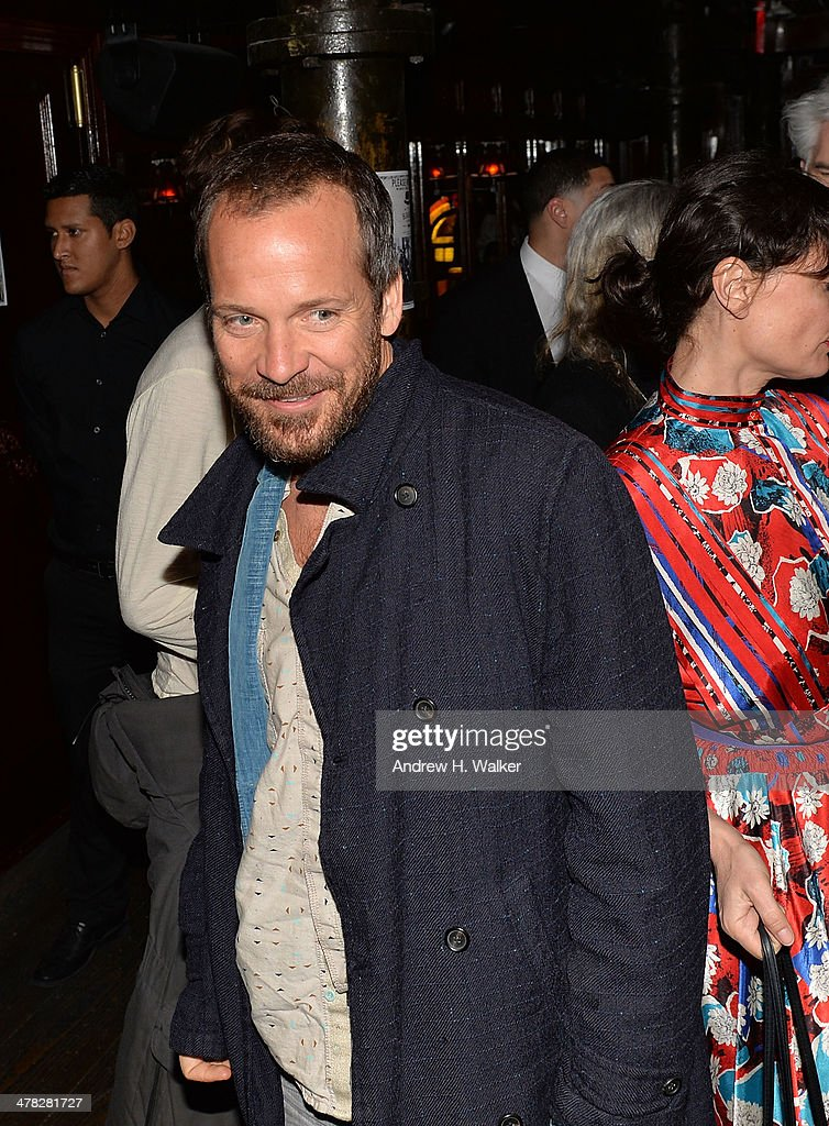 Actor <a gi-track='captionPersonalityLinkClicked' href=/galleries/search?phrase=Peter+Sarsgaard&family=editorial&specificpeople=210547 ng-click='$event.stopPropagation()'>Peter Sarsgaard</a> attends Sony Pictures Classics' 'Only Lovers Left Alive' screening hosted by The Cinema Society and Stefano Tonchi, Editor in Chief of W Magazine after party at Chalk Point Kitchen on March 12, 2014 in New York City.
