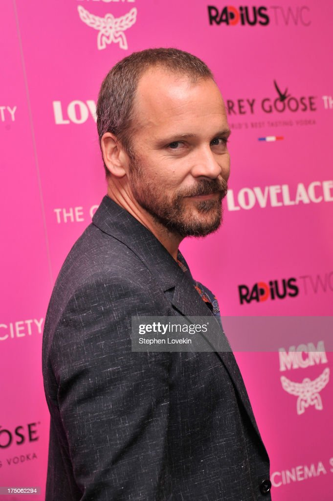 Actor <a gi-track='captionPersonalityLinkClicked' href=/galleries/search?phrase=Peter+Sarsgaard&family=editorial&specificpeople=210547 ng-click='$event.stopPropagation()'>Peter Sarsgaard</a> attends The Cinema Society and MCM with Grey Goose screening of Radius TWC's 'Lovelace' at MoMA on July 30, 2013 in New York City.