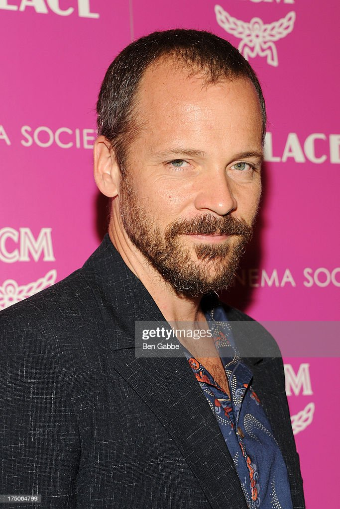 Actor <a gi-track='captionPersonalityLinkClicked' href=/galleries/search?phrase=Peter+Sarsgaard&family=editorial&specificpeople=210547 ng-click='$event.stopPropagation()'>Peter Sarsgaard</a> attends The Cinema Society and MCM with Grey Goose host a screening of Radius TWC's 'Lovelace' at The Museum of Modern Art on July 30, 2013 in New York City.