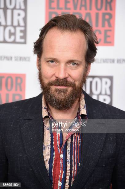 Actor Peter Sarsgaard attends the Elevator Repair Service Theater 25th Anniversary Gala at Tribeca Rooftop on May 22 2017 in New York City
