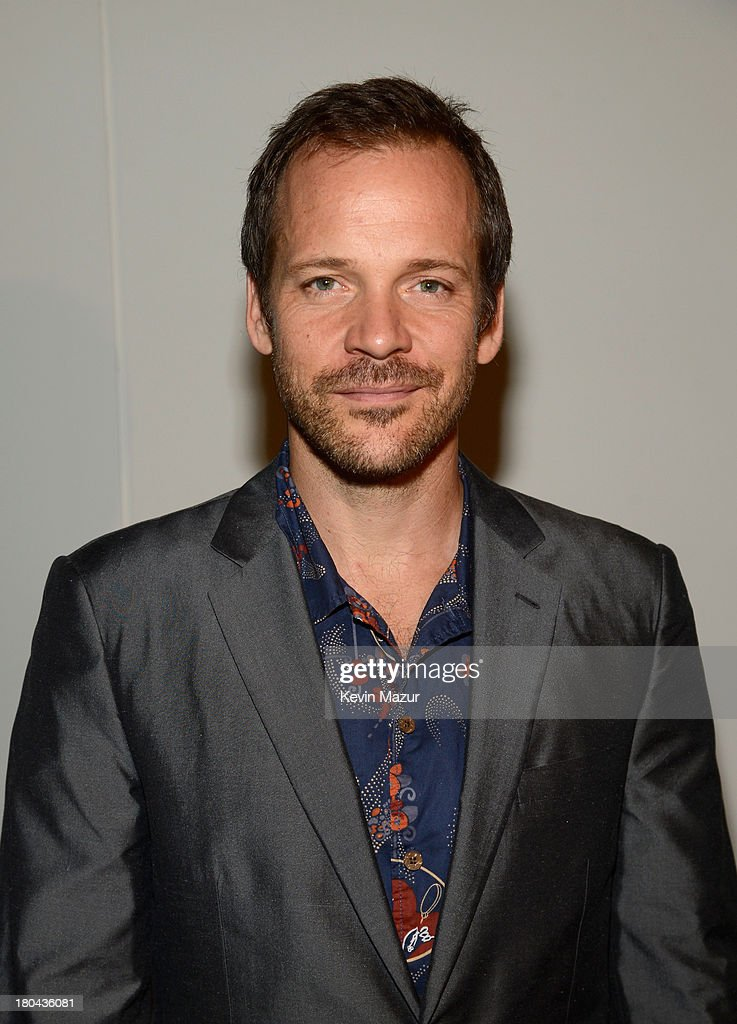Actor <a gi-track='captionPersonalityLinkClicked' href=/galleries/search?phrase=Peter+Sarsgaard&family=editorial&specificpeople=210547 ng-click='$event.stopPropagation()'>Peter Sarsgaard</a> attends the Estee Lauder 'Modern Muse' Fragrance Launch Party at the Guggenheim Museum on September 12, 2013 in New York City.