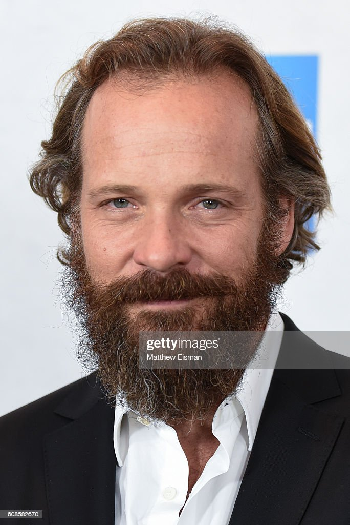 Actor Peter Sarsgaard attends 'The Magnificent Seven' New York Premiere at the Museum of Modern Art on September 19, 2016 in New York City.