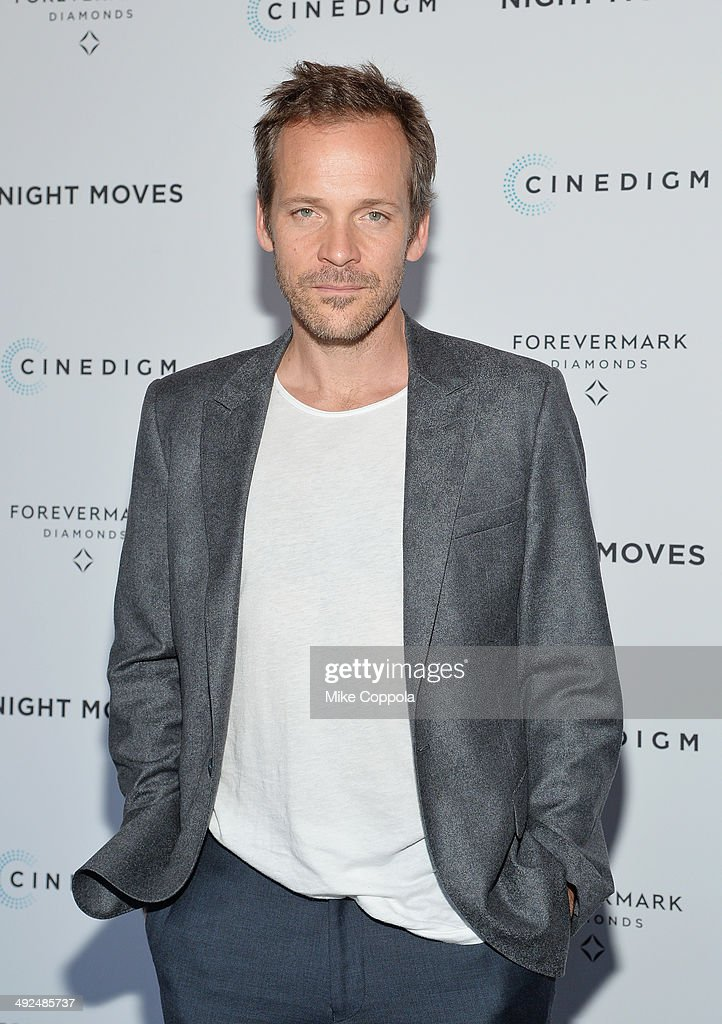 Actor <a gi-track='captionPersonalityLinkClicked' href=/galleries/search?phrase=Peter+Sarsgaard&family=editorial&specificpeople=210547 ng-click='$event.stopPropagation()'>Peter Sarsgaard</a> attends the 'Night Moves' premiere at Sunshine Landmark on May 20, 2014 in New York City.