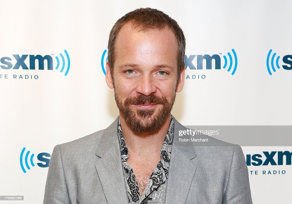 Actor <a gi-track='captionPersonalityLinkClicked' href=/galleries/search?phrase=Peter+Sarsgaard&family=editorial&specificpeople=210547 ng-click='$event.stopPropagation()'>Peter Sarsgaard</a> visits at SiriusXM Studios on July 31, 2013 in New York City.