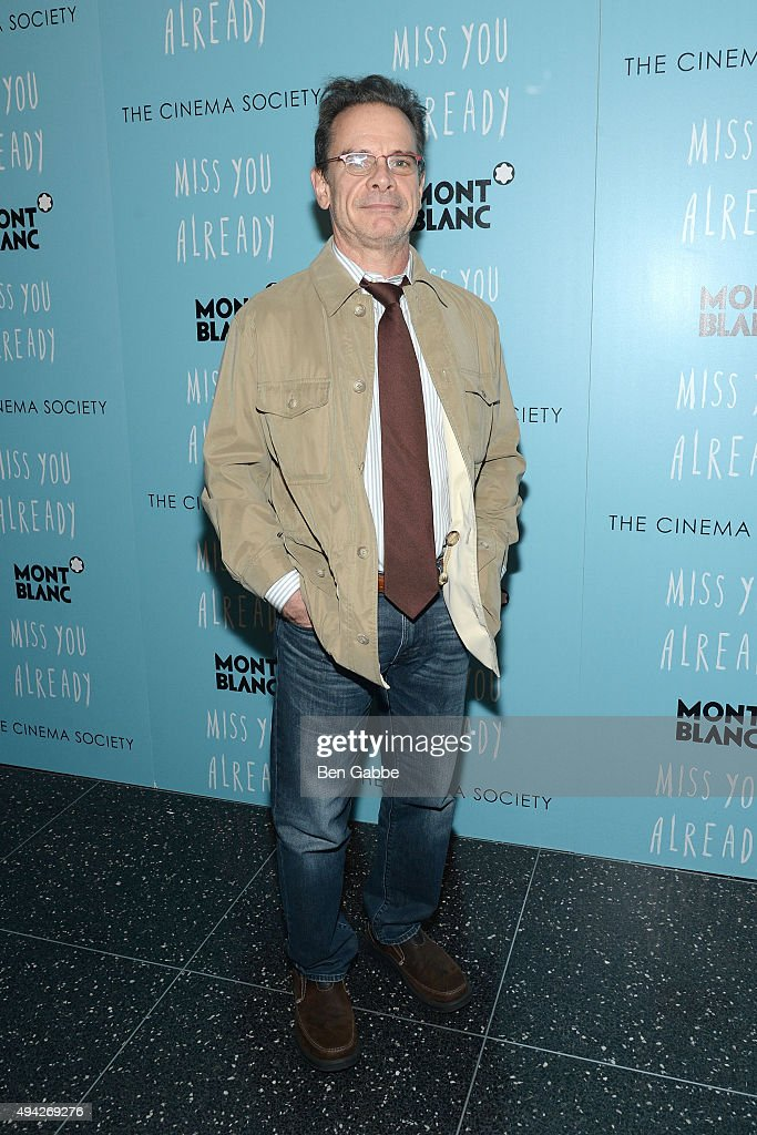 Actor <a gi-track='captionPersonalityLinkClicked' href=/galleries/search?phrase=Peter+Scolari&family=editorial&specificpeople=957072 ng-click='$event.stopPropagation()'>Peter Scolari</a> attends Montblanc & The Cinema Society screening of Roadside Attractions & Lionsgate's 'Miss You Already' at Museum of Modern Art on October 25, 2015 in New York City.