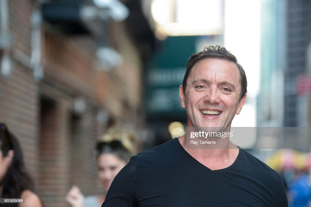 Actor Peter Serafinowicz enters the 'The Late Show With Stephen Colbert' taping at the Ed Sullivan Theater on August 16, 2017 in New York City.