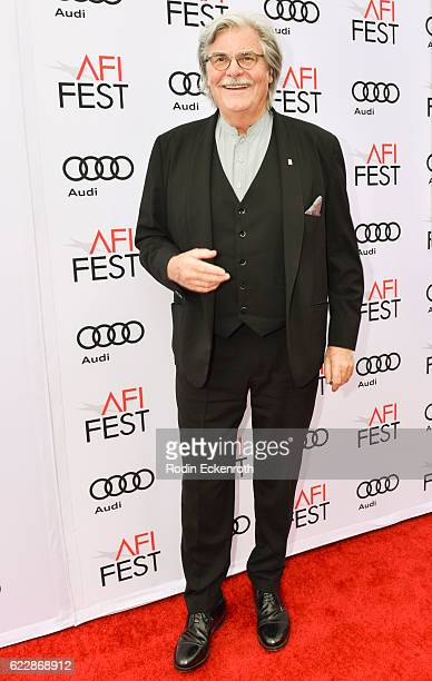 Actor Peter Simonischek attends AFI FEST 2016 presented by Audi screening of Sony Pictures Classic's 'Toni Erdmann' at the Egyptian Theatre on...