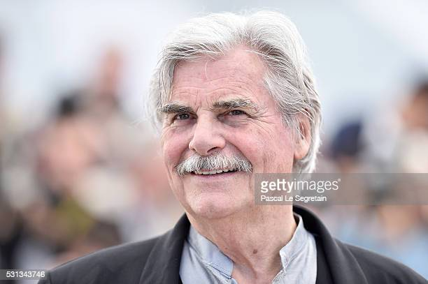 Actor Peter Simonischek attends the 'Toni Erdmann' photocall during the 69th annual Cannes Film Festival at the Palais des Festivals on May 14 2016...