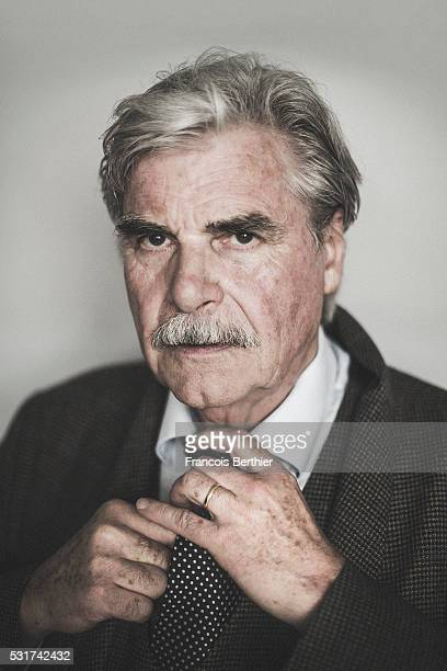 Actor Peter Simonischek is photographed for Self Assignment on May 15 2016 in Cannes France