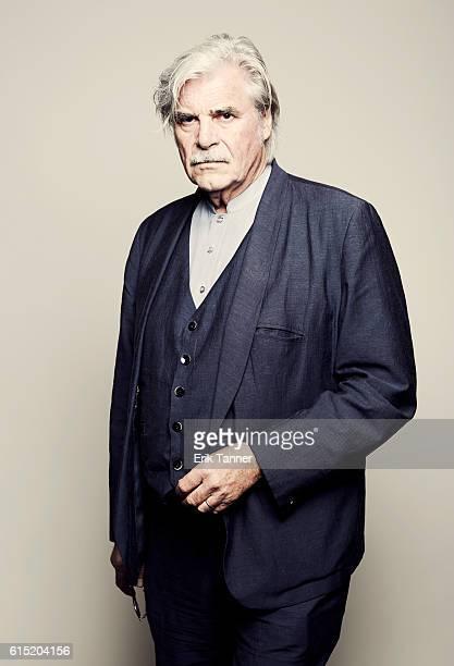 Actor Peter Simonischek poses for a portrait during the 54th New York Film Festival at Lincoln Center on October 2 2016 in New York City