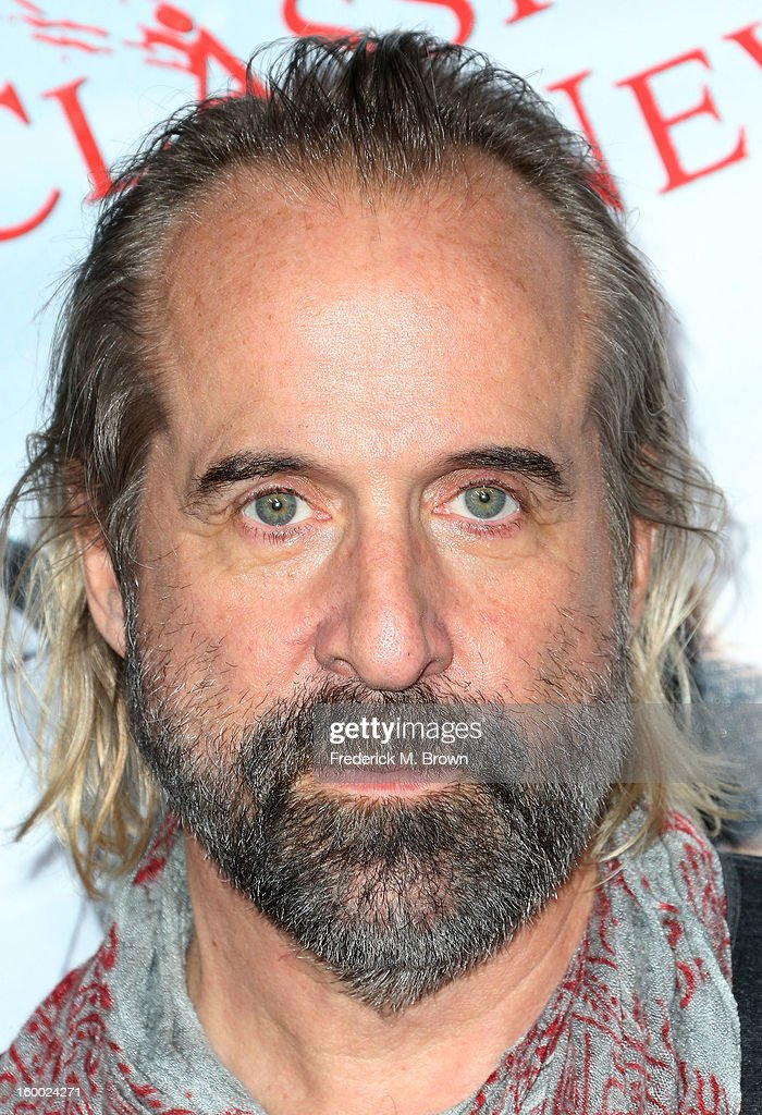 Actor <a gi-track='captionPersonalityLinkClicked' href=/galleries/search?phrase=Peter+Stormare&family=editorial&specificpeople=583950 ng-click='$event.stopPropagation()'>Peter Stormare</a> attends the Premiere of Paramount Pictures' 'Hansel And Gretel Witch Hunters' at the TCL Chinese Theatre on January 24, 2013 in Hollywood, California.