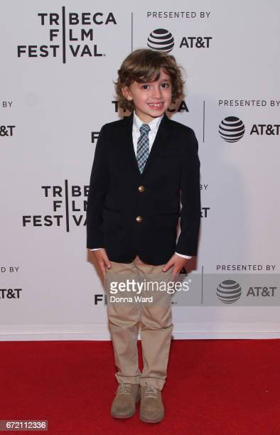Actor Peter Thompson attends Tribeca TV Pilot Season 'Lost and Found' showing during the 2017 Tribeca Film Festival at Cinepolis Chelsea on April 23...