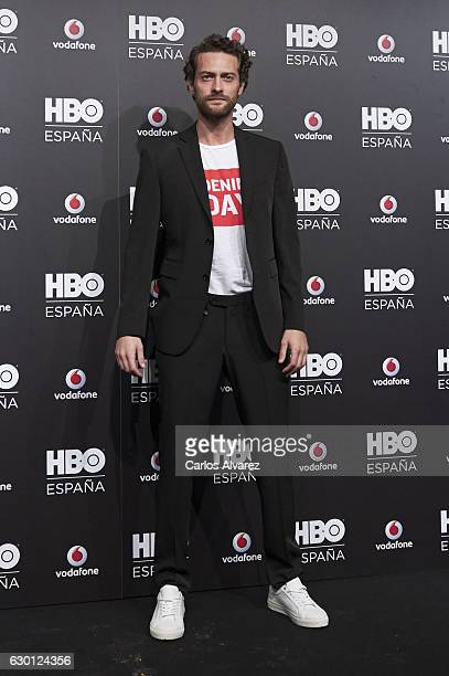 Actor Peter Vives attends HBO Spain presentation party at Florida Retiro Club on December 16 2016 in Madrid Spain