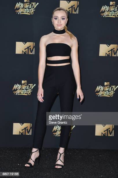 Actor Peyton List attends the 2017 MTV Movie and TV Awards at The Shrine Auditorium on May 7 2017 in Los Angeles California