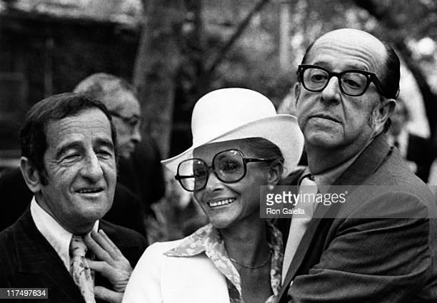 Actor Phil Silvers attends Third Annual Straw Hat Awards on May 16 1972 at Tavern on the Green in New York City