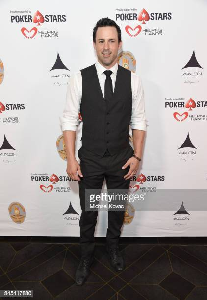 Actor Philip Boyd at the Heroes for Heroes Los Angeles Police Memorial Foundation Celebrity Poker Tournament at Avalon on September 10 2017 in...