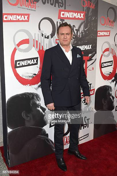 Actor Philip Glenister arrives at the premiere of Cinemax's 'Outcast' on June 1 2016 in Los Angeles California