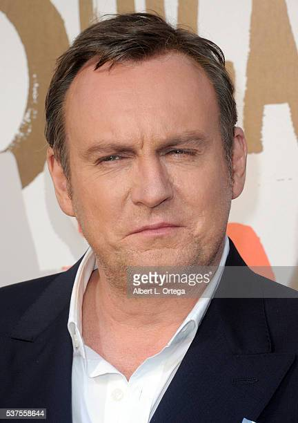 Actor Philip Glenister arrives for the Premiere Of Cinemax's 'Outcast' held at Hollywood Forever on June 1 2016 in Hollywood California