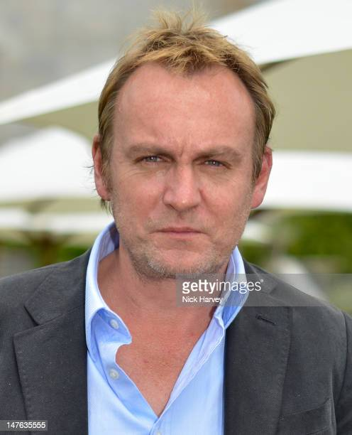 Actor Philip Glenister attends Cartier Style Luxe Lunch Reception at Goodwood Festival of Speed at Goodwood on July 1 2012 in Chichester England