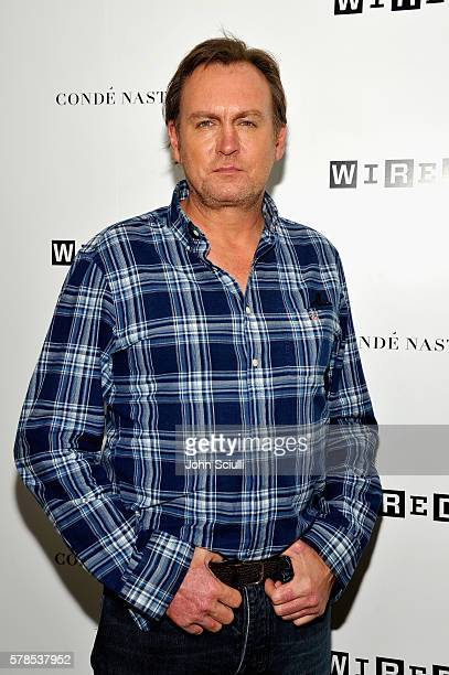 Actor Philip Glenister attends WIRED Cafe during ComicCon International 2016 at Omni Hotell on July 21 2016 in San Diego California