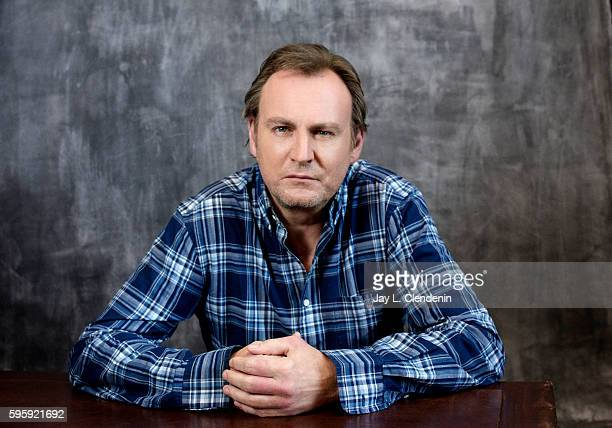 Actor Philip Glenister of the television series ' Outcast' is photographed for Los Angeles Times at San Diego Comic Con on July 22 2016 in San Diego...