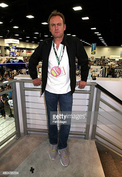 Actor Philip Glenister speaks onstage at the OUTCAST autograph signing presented by Cinemax and FIC at ComicCon International 2015 at on July 11 2015...