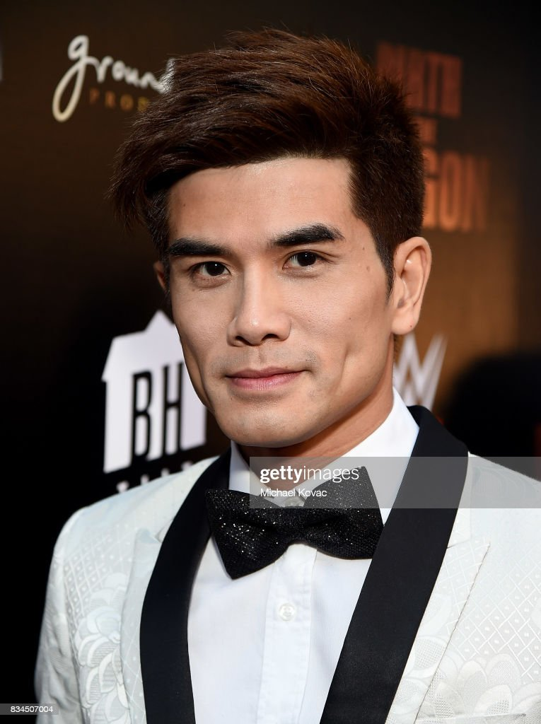Actor Philip Ng attend the Los Angeles special screening of Birth of the Dragon at ArcLight Cinemas on August 17, 2017 in Hollywood, California.