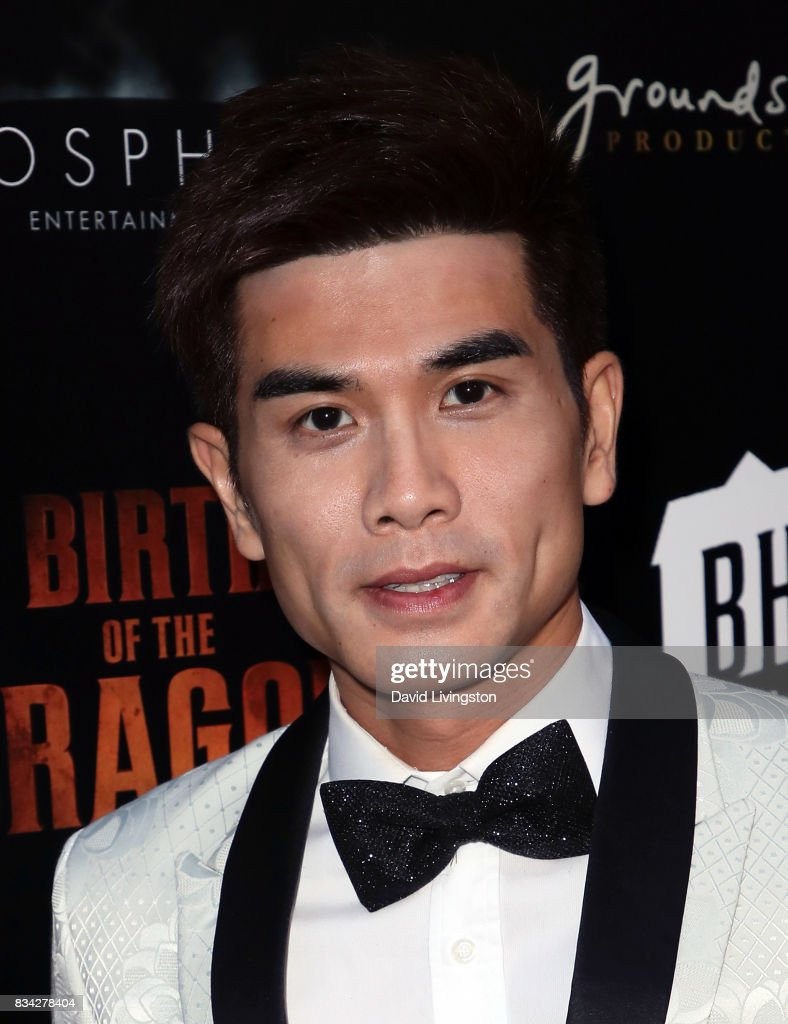 Actor Philip Ng attends the premiere of WWE Studios' 'Birth of the Dragon' at ArcLight Hollywood on August 17, 2017 in Hollywood, California.