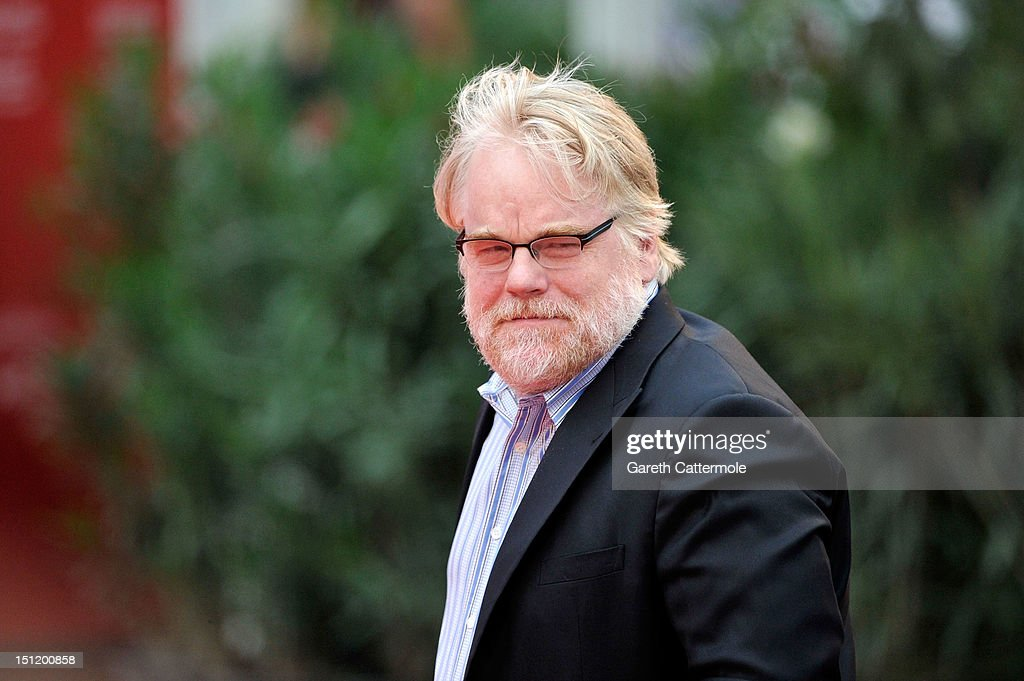 Actor <a gi-track='captionPersonalityLinkClicked' href=/galleries/search?phrase=Philip+Seymour+Hoffman&family=editorial&specificpeople=212791 ng-click='$event.stopPropagation()'>Philip Seymour Hoffman</a> attends 'The Master' Premiere during The 69th Venice Film Festival at the Palazzo del Cinema on September 1, 2012 in Venice, Italy.