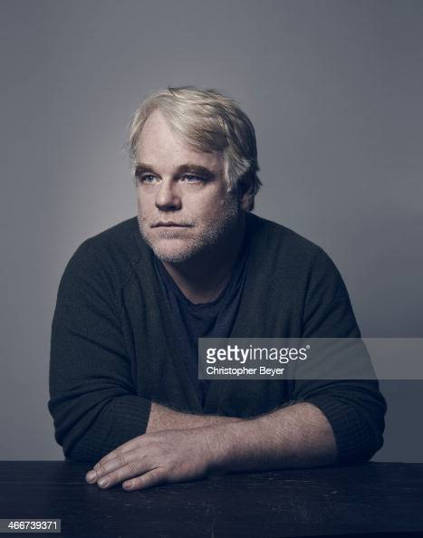 Actor Philip Seymour Hoffman is photographed for Entertainment Weekly Magazine on January 19 2014 in Park City Utah ON