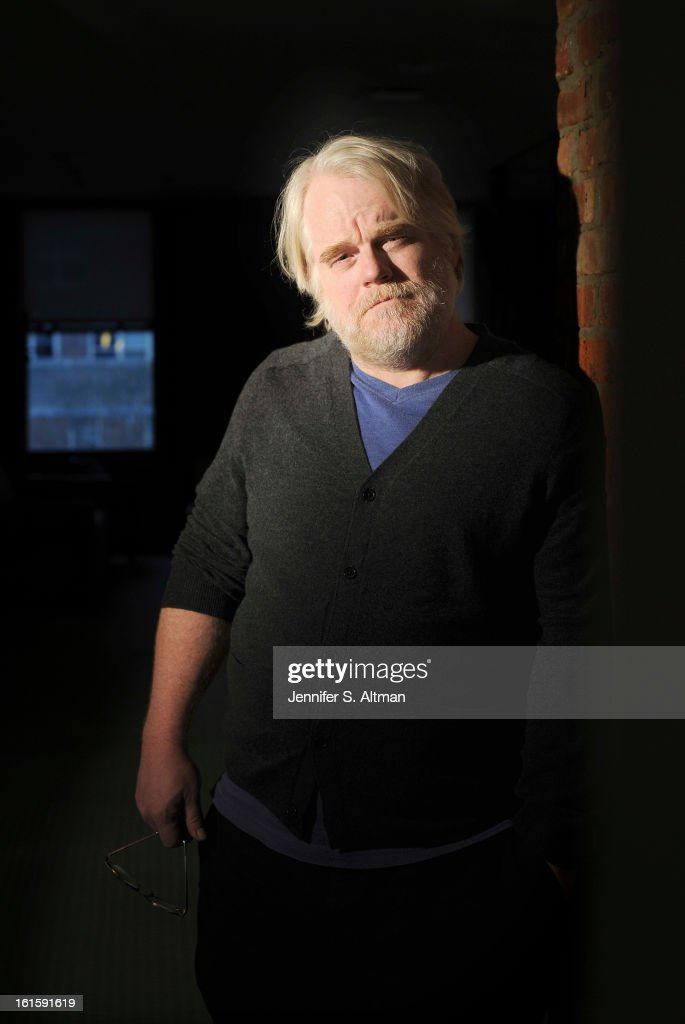 Actor <a gi-track='captionPersonalityLinkClicked' href=/galleries/search?phrase=Philip+Seymour+Hoffman&family=editorial&specificpeople=212791 ng-click='$event.stopPropagation()'>Philip Seymour Hoffman</a> is photographed for Los Angeles Times on January 21, 2013 in New York City.