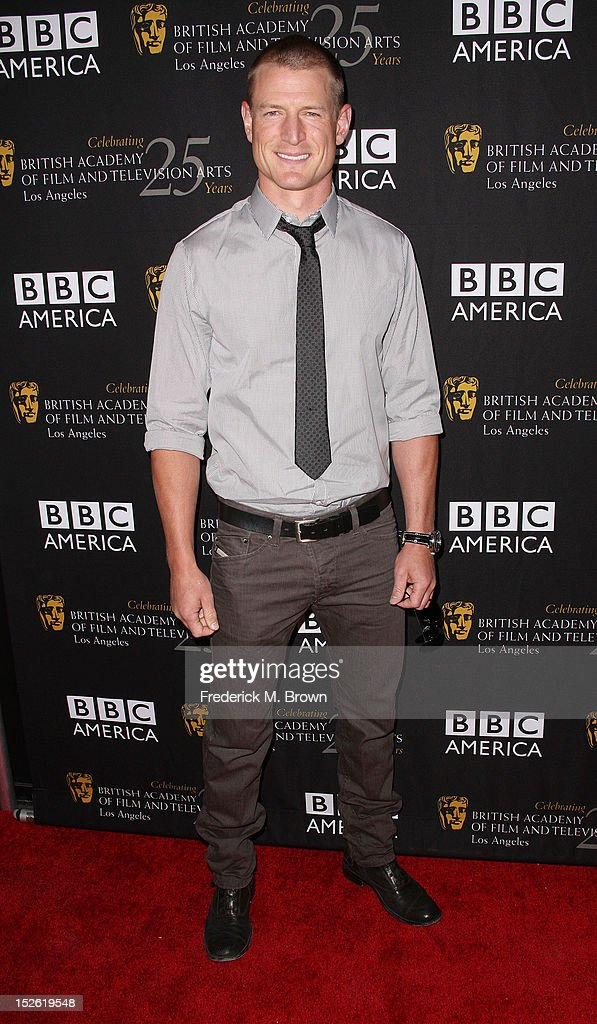 Actor Philip Winchester attends BAFTA LA TV Tea 2012 Presented By BBC America at The London Hotel Hollywood on September 22, 2012 in West Hollywood, California.