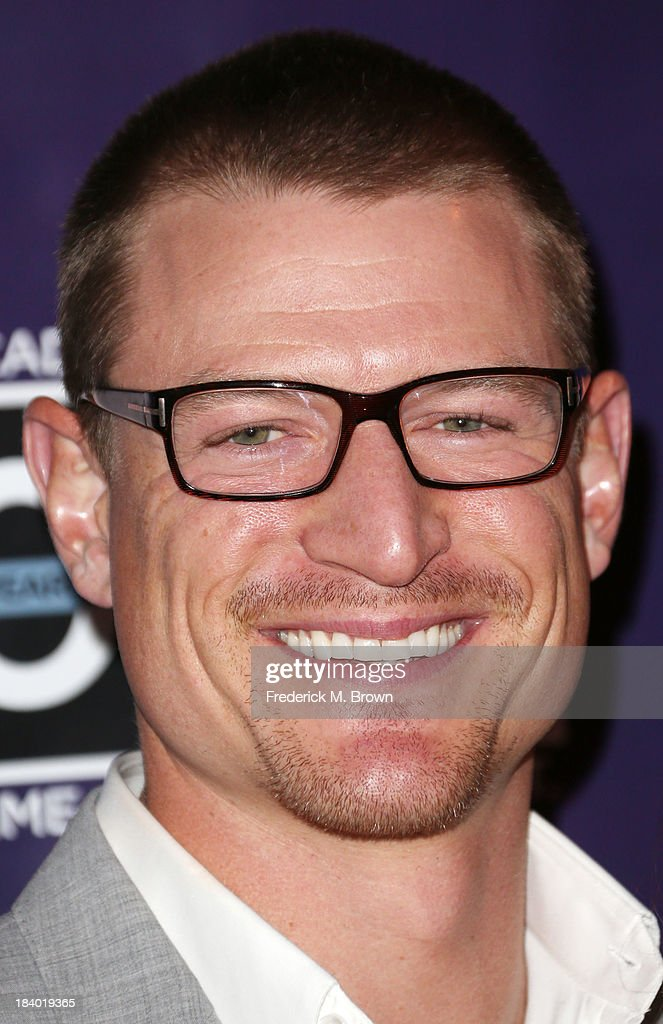 Actor Philip Winchester attends The Wounded Warrier Project's (WWP) Carry Forward Awards at Club Nokia on October 10, 2013 in Los Angeles, California.