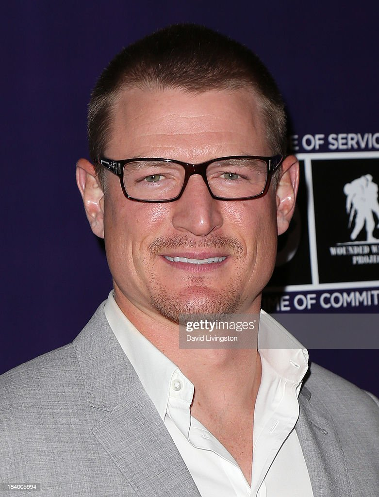 Actor Philip Winchester attends the Wounded Warrior Project's (WWP) Carry Forward Awards at Club Nokia on October 10, 2013 in Los Angeles, California.