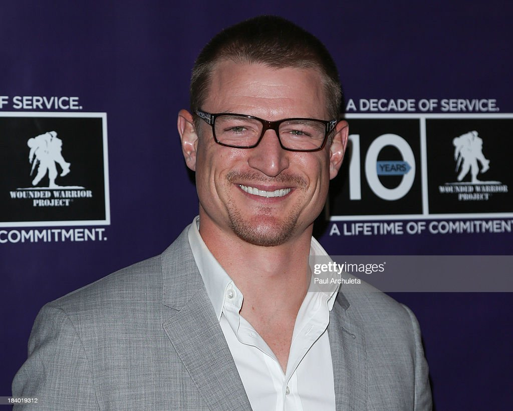 Actor Philip Winchester attends the Wounded Warrior Project's 'Carry Forward Awards' at Club Nokia on October 10, 2013 in Los Angeles, California.