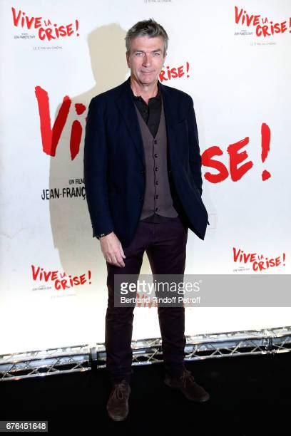 Actor Philippe Caroit attends the 'Vive la Crise' Paris Premiere at Cinema Max Linder on May 2 2017 in Paris France