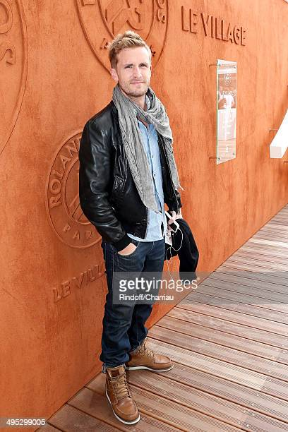 Actor Philippe Lacheau alias Fifi attends the Roland Garros French Tennis Open 2014 Day 9 on June 2 2014 in Paris France