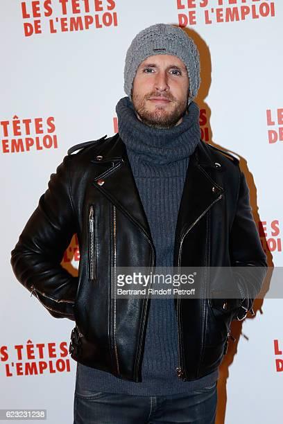Actor Philippe Lacheau attends 'Les Tetes de l''Emploi' Paris Premiere at Cinema Gaumont Opera Capucines on November 14 2016 in Paris France