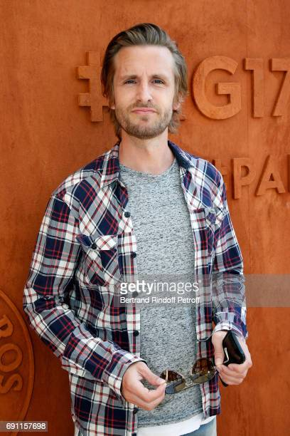 Actor Philippe Lacheau attends the 2017 French Tennis Open Day Five at Roland Garros on June 1 2017 in Paris France