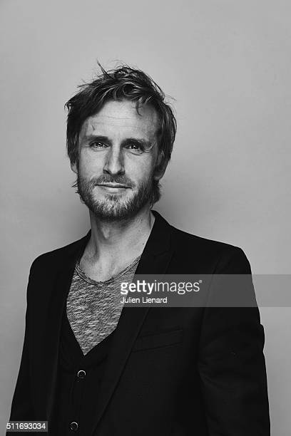 Actor Philippe Lacheau is photographed for for Self Assignment on February 2 2016 in Paris France