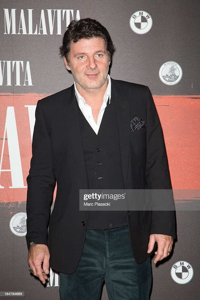 Actor Philippe Lellouche attends the 'Malavita' premiere on October 16, 2013 in Roissy-en-France, France.