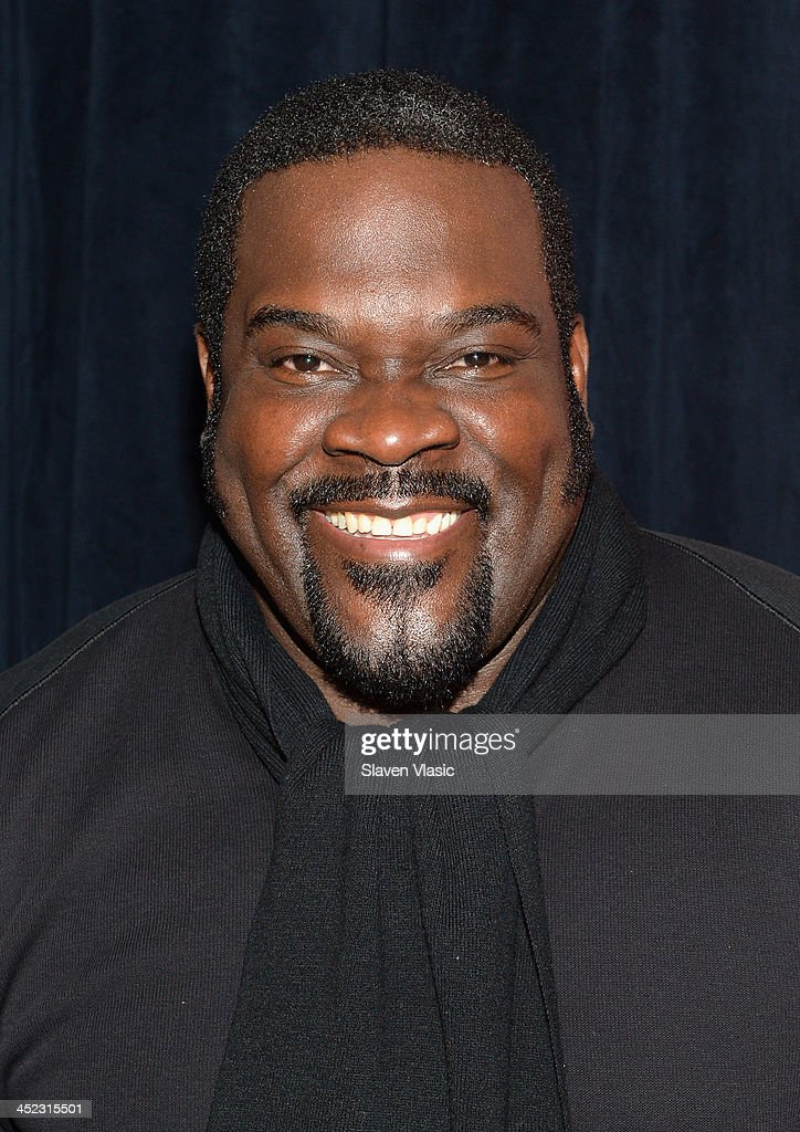 Actor Phillip Boykin attends press launch of Broadway Classics at Carnegie Hall at Manhattan Concert Productions Studio on November 27, 2013 in New York City.