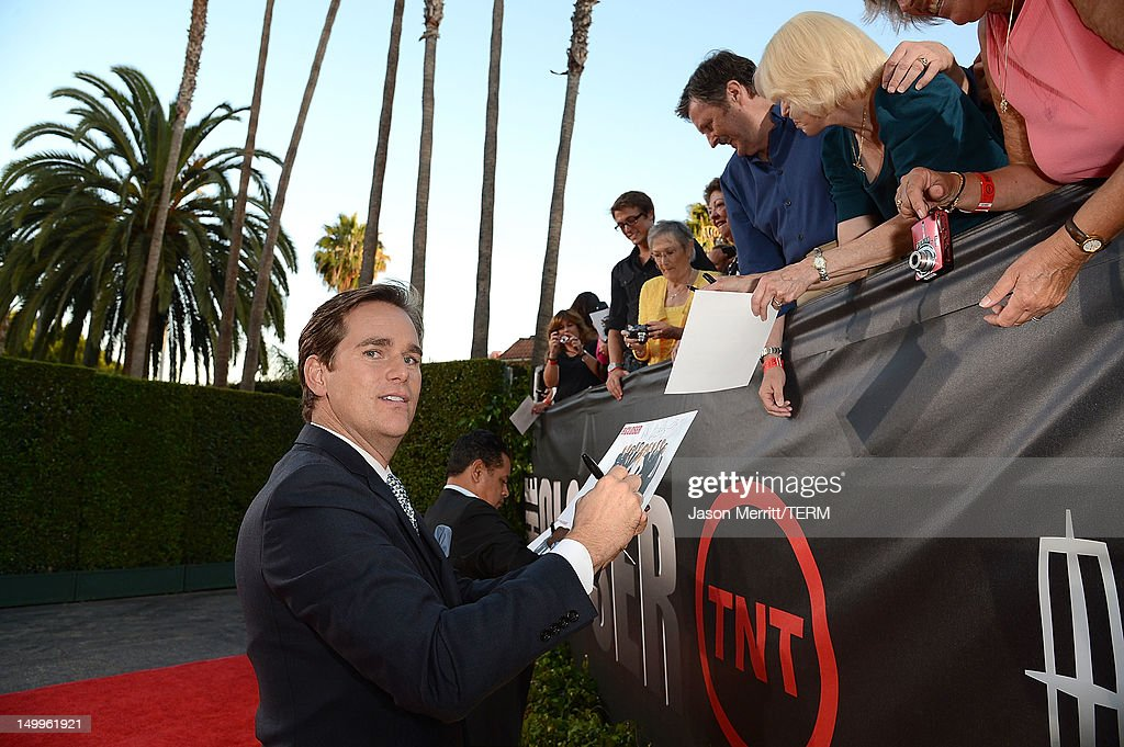 Actor Phillip P. Keene attends the special fan screening of TNT's 'The Closer' series finale held at The Roosevelt Hotel on August 7, 2012 in Hollywood, California.