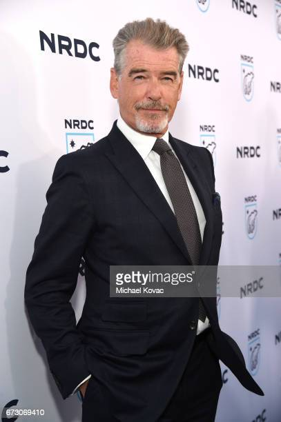 Actor Pierce Brosnan attends NRDC STAND UP for the planet 2017 on April 25 2017 in Beverly Hills California