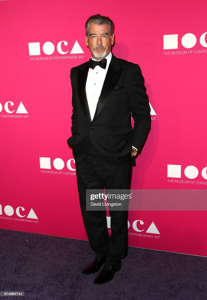 Actor Pierce Brosnan attends the 2017 MOCA Gala at The Geffen Contemporary at MOCA on April 29, 2017 in Los Angeles, California.