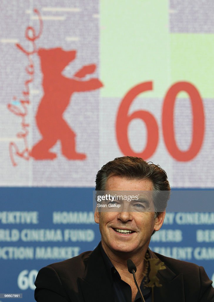 Actor Pierce Brosnan attends the 'Ghost Writer' Press Conference during day two of the 60th Berlin International Film Festival at the Grand Hyatt Hotel on February 12, 2010 in Berlin, Germany.
