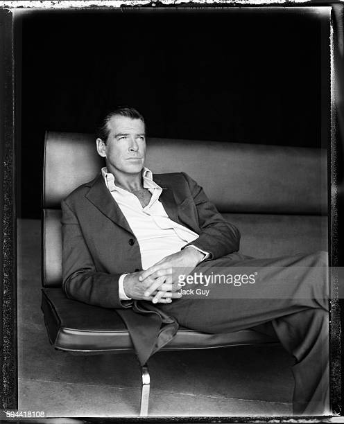 Actor Pierce Brosnan is photographed for Los Angeles Confidential in 2004 in Los Angeles California PUBLISHED IMAGE