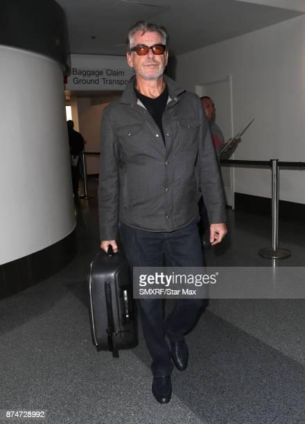 Actor Pierce Brosnan is seen on November 15 2017 in Los Angeles California
